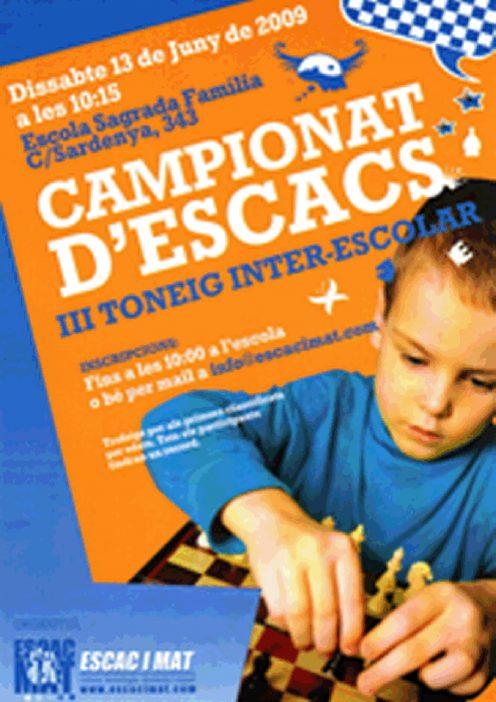 cartell III Interescolar A5