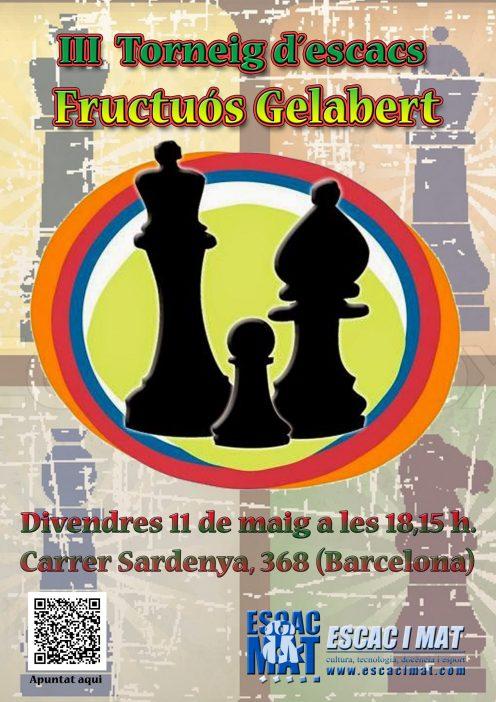 Cartell III Fructuos Gelabert A4